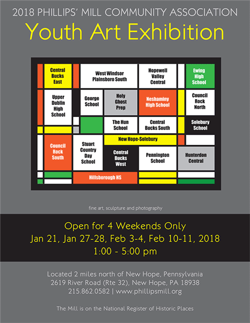 2018 Phillips' Mill Youth Art Exhibition