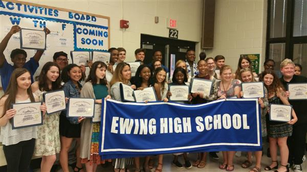 Ewing High School Celebrates Achievement in Arts/Activities