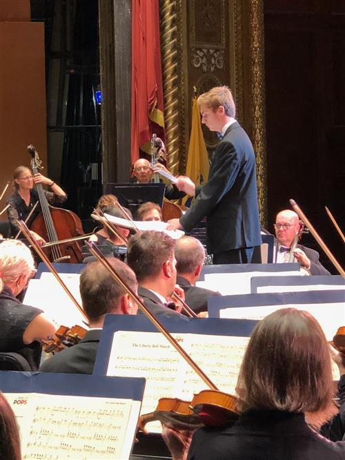 EHS Senior Takes Stage with Philly POPS
