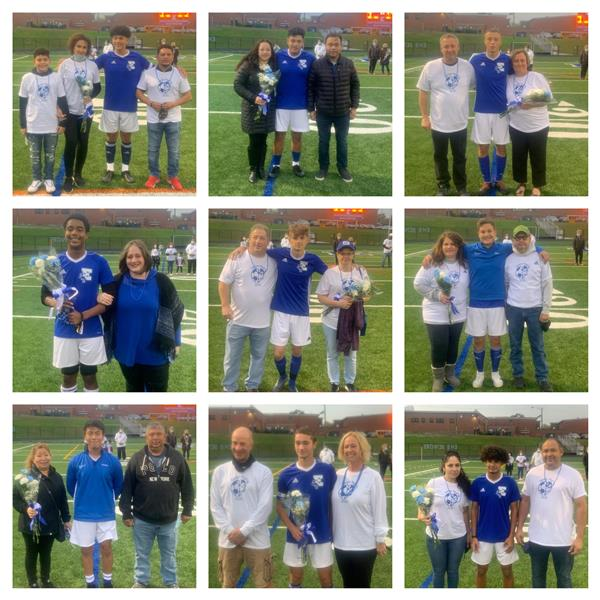 EHS Athletics Celebrate Fall Senior Student-Athletes