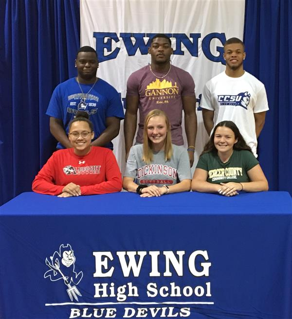 EHS Student-Athletes Make College Choices