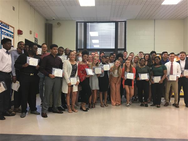 Ewing High School Celebrates 2019 Senior Student-Athletes