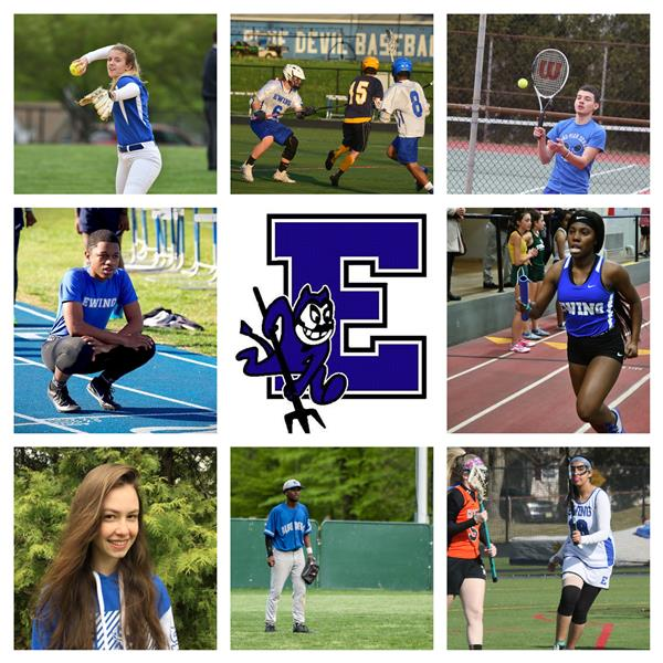Saluting Our Ewing High School Spring Senior Athletes!