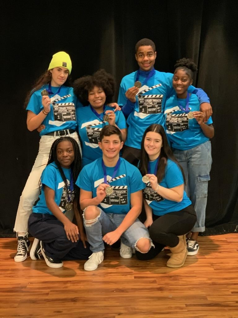 Ewing High School's Theatre Troupe 4883 Qualifies for Nationals!