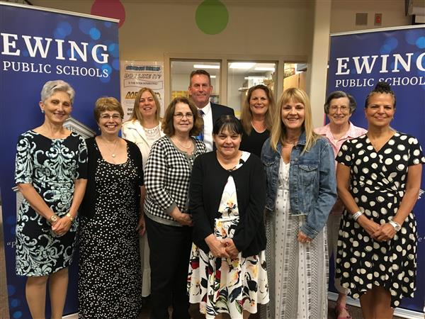 Ewing School District Honors Retirees