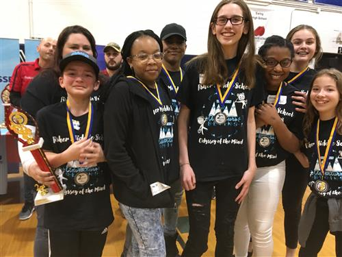 Fisher Odyssey of the Mind Team Qualifies for Worlds!