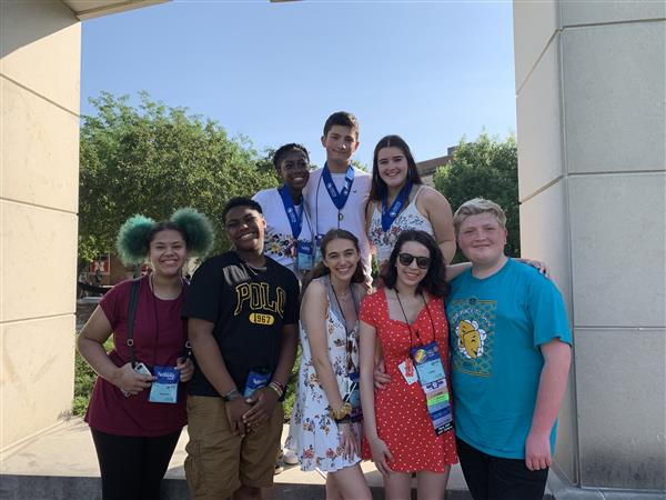 Ewing High School's Troupe 4883 Excels at International Thespian Festival!