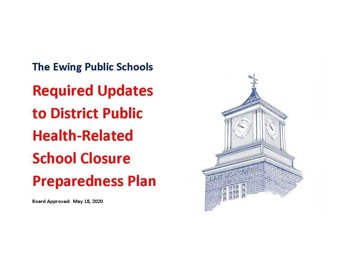 Required Updates to District Public Health-Related School Closure Preparedness Plan