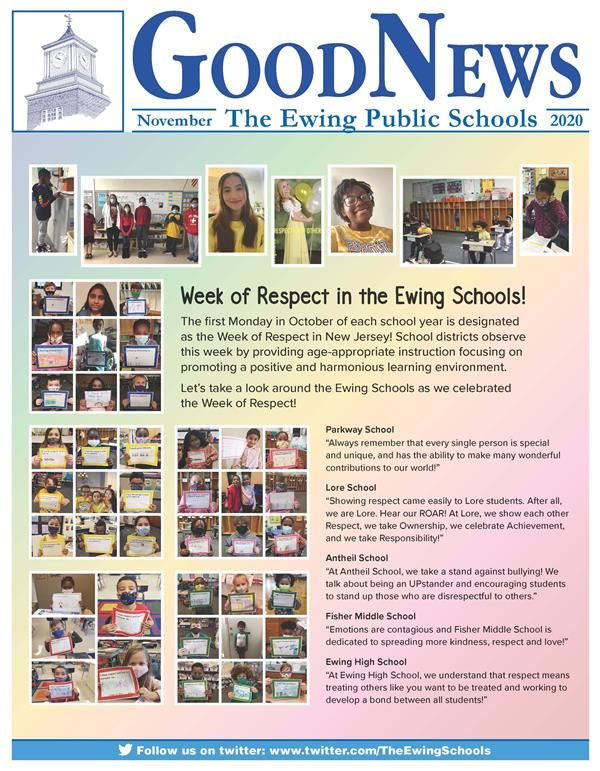 Week of Respect in the Ewing Schools!