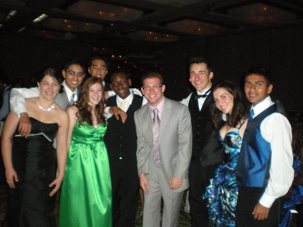 AP Biology at Senior Prom