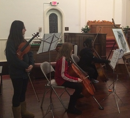 FMS Students Perform at 1867 Sanctuary