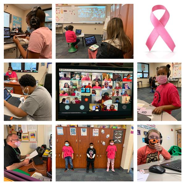Students at OBA Participate in Breast Cancer Awareness Month