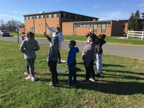 Antheil 5th Grade Class Creates Model Solar System