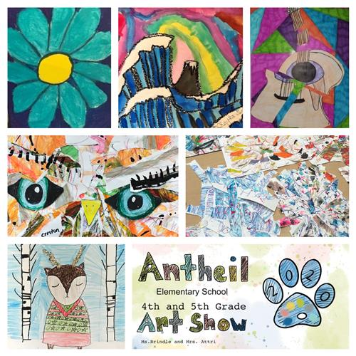 Antheil Elementary School 4th & 5th Grade 2020 Virtual Art Show