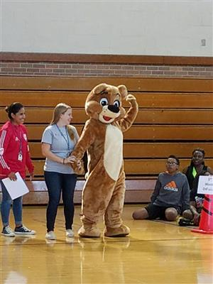 Antheil Is In It To Win It - PBIS Rally