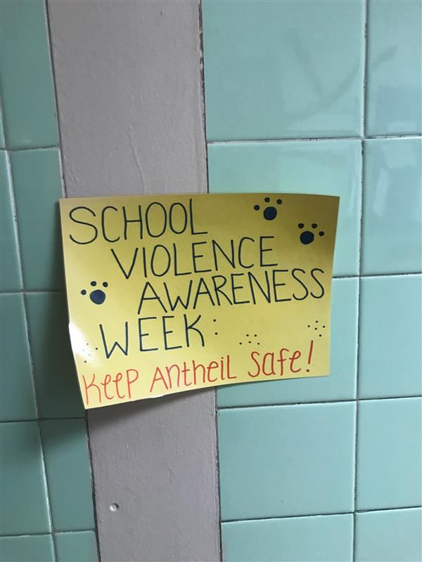 School Violence Awareness Week