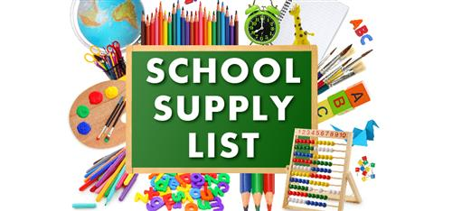 Supply Lists 2018-2019