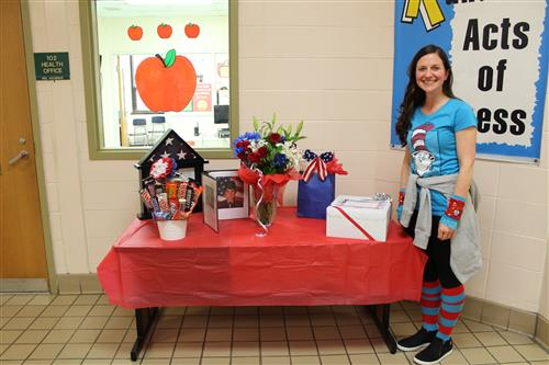 Parkway IES Teacher, Ms Jamison Retires from Army Reserves