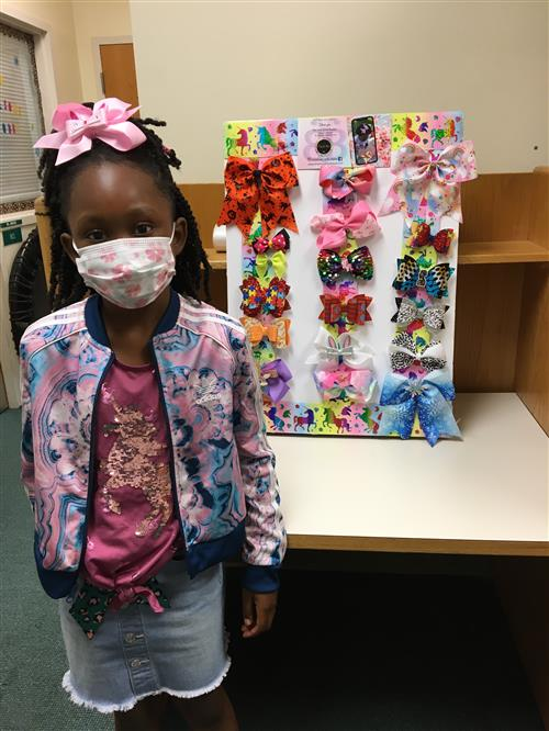 Parkway Student Profile:  Brianna Francis, ENTREPRENEUR at Age 8!