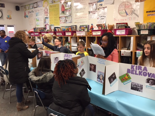 5th Grade Students Create a Holocaust Museum