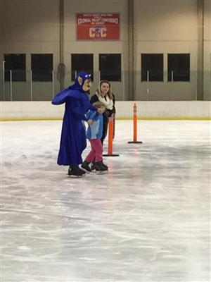 2018 ice skating party